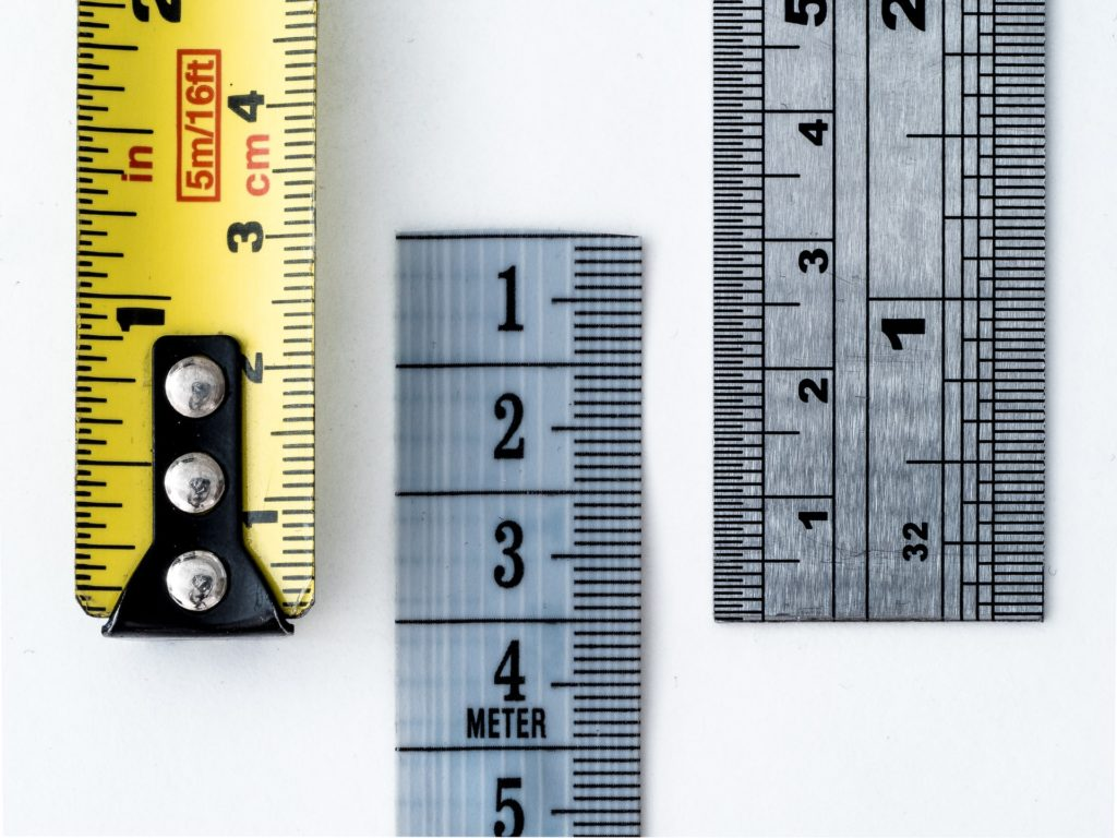 Image of three rulers